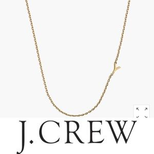 J. Crew Y necklace